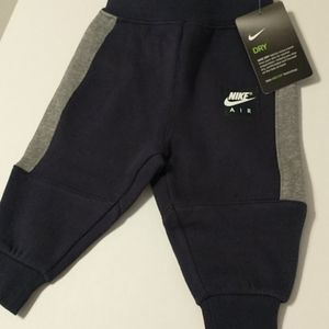 Nike Air Boys Infants 6/9 months Sweatpants.NEW WITH TAGS!